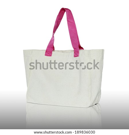 fabric bag  - stock photo