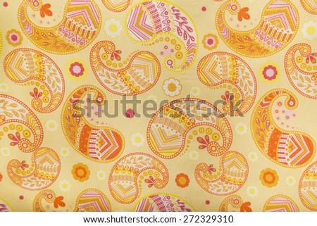 fabric pattern background - stock photo