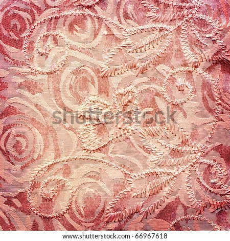 fabric pink background - stock photo