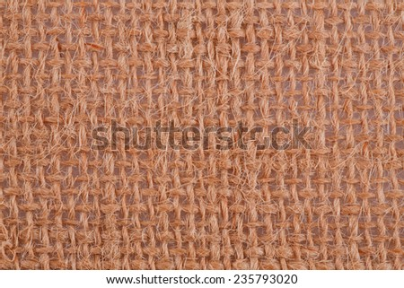 Fabric place mat texture for background, close-up image. - stock photo