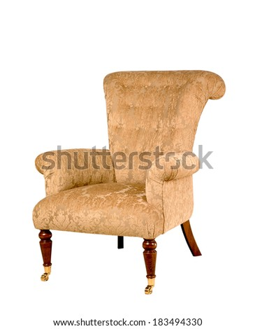 fabric seat - stock photo