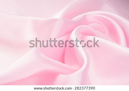 Fabric silk texture pink. rose-color, rose-colour, rose.  - stock photo