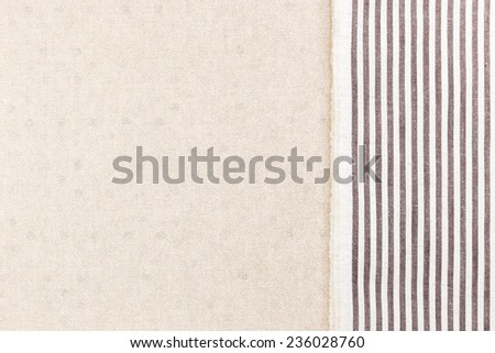 Fabric textile over canvas use for background