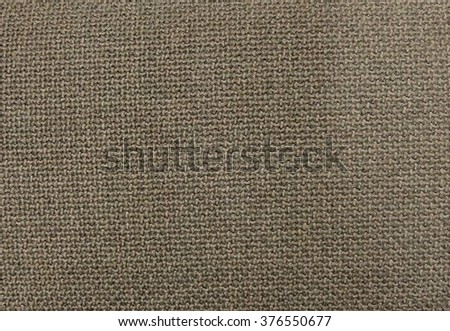Fabric Texture, Close Up of Brown Sack or Burlap Fabric Texture Pattern Background in Pastel Colors Tone.