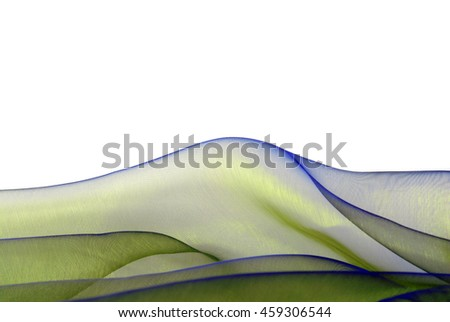 fabric texture empty space border frame background  - stock photo