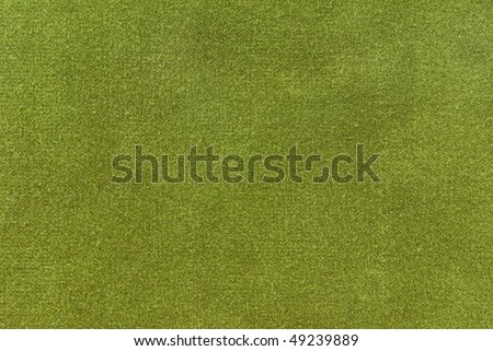 fabric texture in green olive color - stock photo