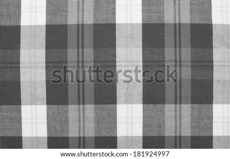 Fabric texture in grey stripes