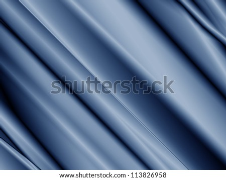 Fabric with folds and creases perfect for any advertising or business card background - stock photo