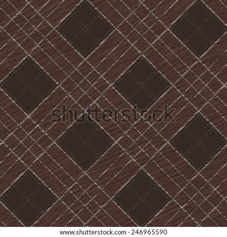 Fabric with scratch lines. Abstract Seamless Pattern. Surface texture. Grungy tartan. Brush strokes. Pattern fills. Abstract backdrop. Simple checkered template. - stock photo