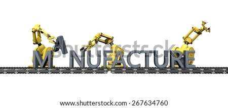 "Fabrication of the English word "" manufacture"""