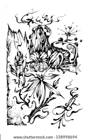 Swamp plants coloring coloring pages for Swamp animals coloring pages