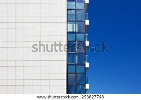 Facade of modern building.  - stock photo