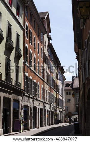 facades of annecy