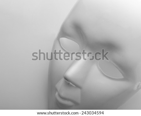 Face mask - stock photo
