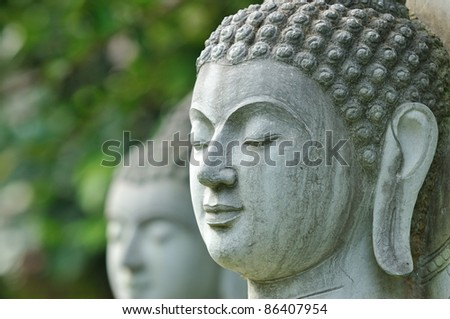 Face of Buddha statue , Thailand