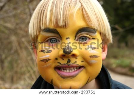 Face Paint - stock photo