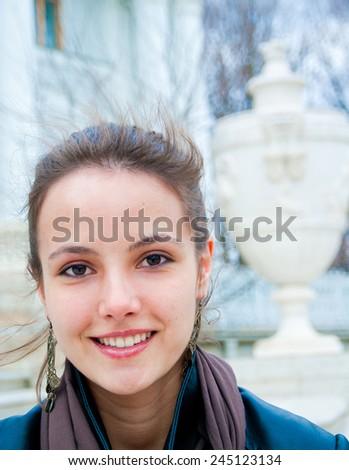Face Portrait Beauty  - stock photo