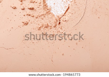 Face powder texture