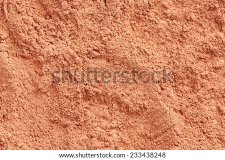 Face powder texture - stock photo