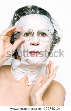 Facial mask - stock photo