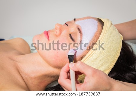 facial mask treatment