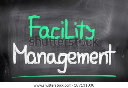 Facility Management Concept - stock photo