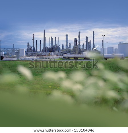 Factory - chemical factory in nature