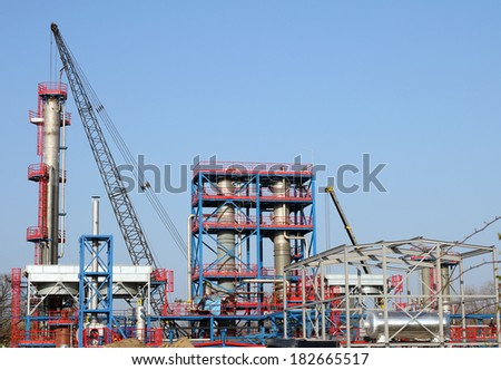 factory construction site industry zone