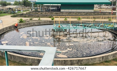 Factory site background pattern manufacturing  technology nature area