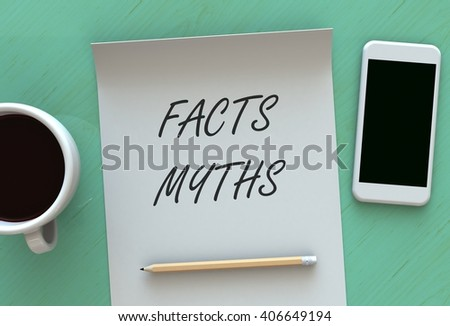 Fact stock images royalty free images vectors shutterstock - Myths and truths about coffee ...