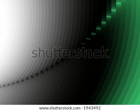 Fade to Green - High Resolution Illustration.  Suitable for graphic or background use.  Click the designer's name under the image for various  colorized versions of this illustration. - stock photo