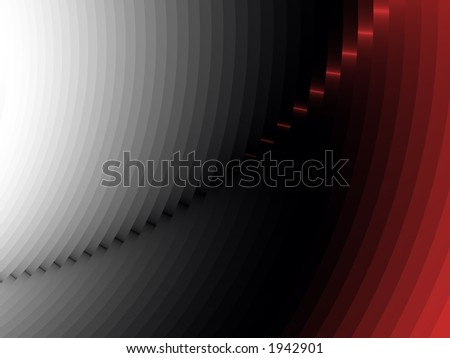 Fade to Red - High Resolution Illustration.  Suitable for graphic or background use.  Click the designer's name under the image for various  colorized versions of this illustration. - stock photo