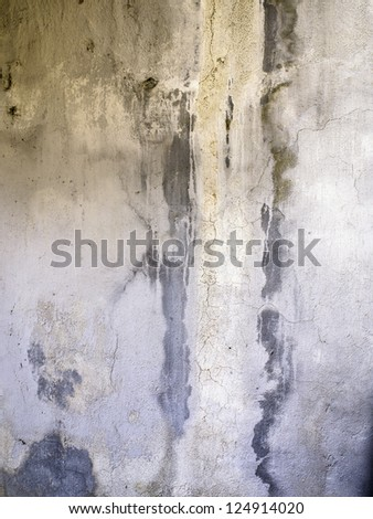 Faded old cement wall - stock photo