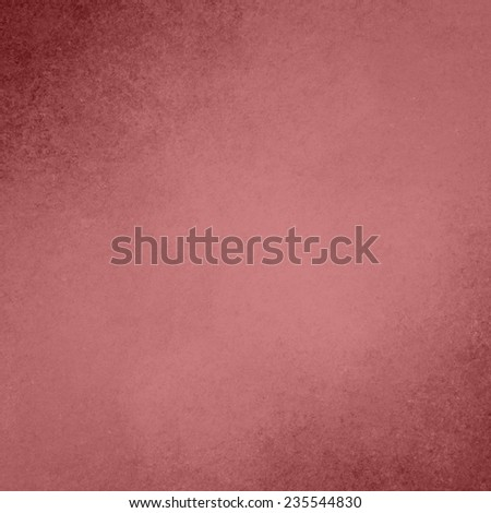 faded pink background, vintage color and sponged distressed texture in soft blended brush strokes in corner design, with light center and dark border, marsala color background - stock photo