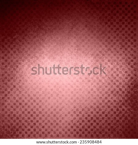 faded pink background, vintage color and sponged distressed texture in soft blended brush strokes with dark center and light border, red marsala wine color background - stock photo