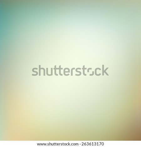 faded vintage background in yellowed blue and brown colors with smooth texture - stock photo