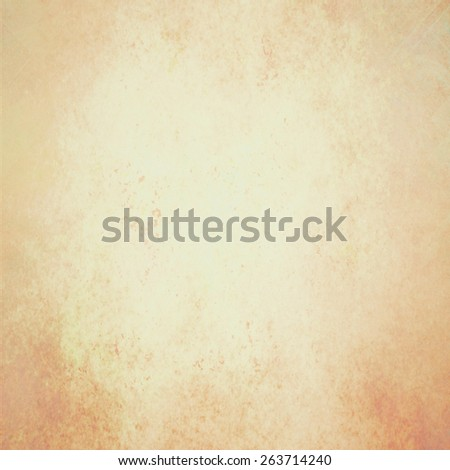 faded vintage white background in brown and orange color hues, old paper