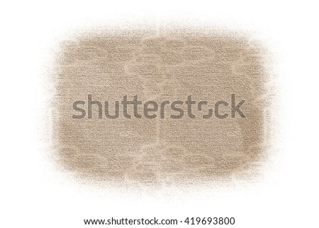 fading canvas  -  illustration - stock photo