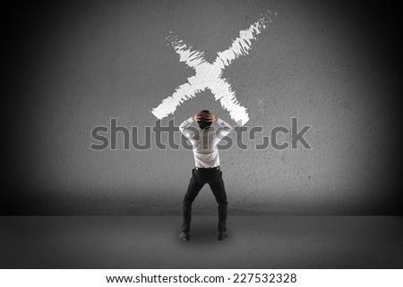 Failure concept - stock photo