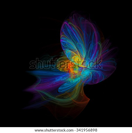 Fairy abstract illustration - stock photo