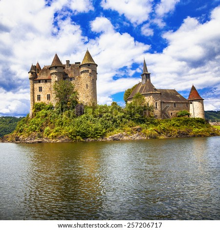 fairy castles of Europe series- chateau de Val, France