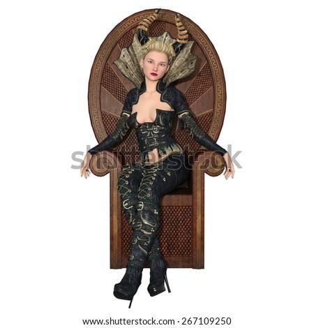 fairy god mother - stock photo