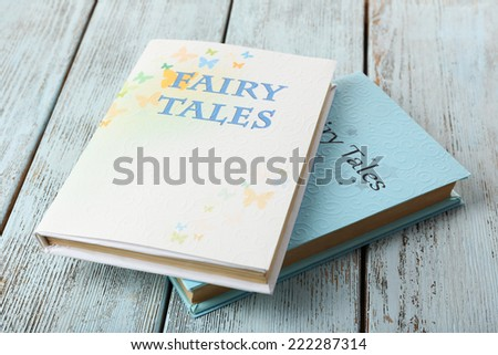 Fairy tales, close-up - stock photo