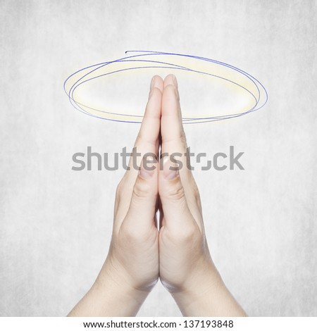 faith - stock photo