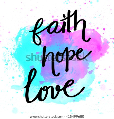 Faith stock photos images pictures shutterstock - Faith love hope pictures ...