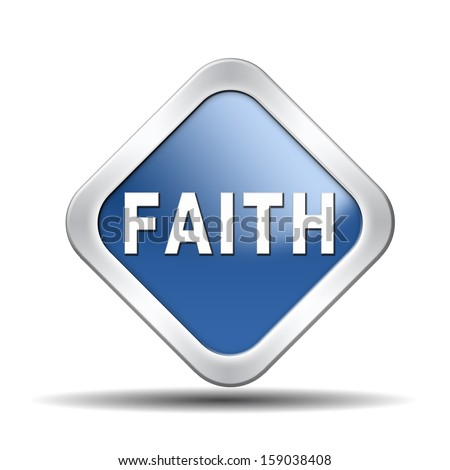 faith trust and belief in god jesus christ and friends - stock photo