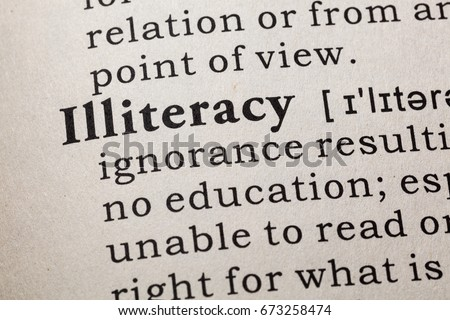 Adult literacy definition