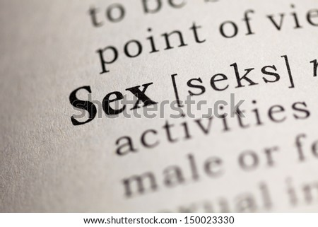 Fake Dictionary, Dictionary definition of the word Sex.