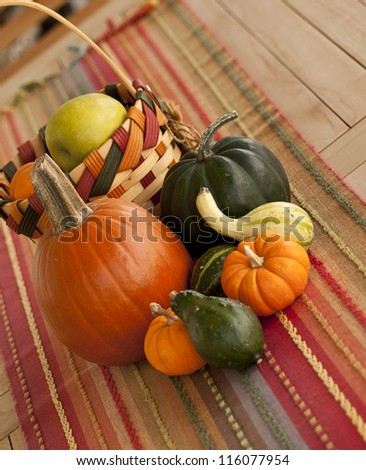 Fall Arrangement - stock photo
