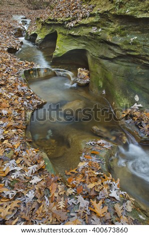 Fall Creek Gorge is one of the undiscovered natural area gems saved by the Nature Conservancy, Warren County, Indiana
